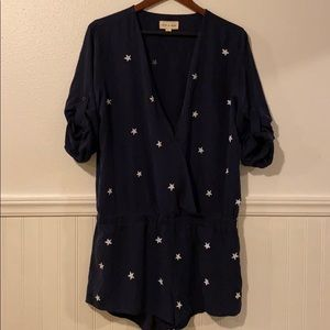 Anthropologie Cloth & Stone Jumpsuit NWT L